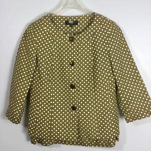 Talbots Beautiful Pattern Skirt Suit
